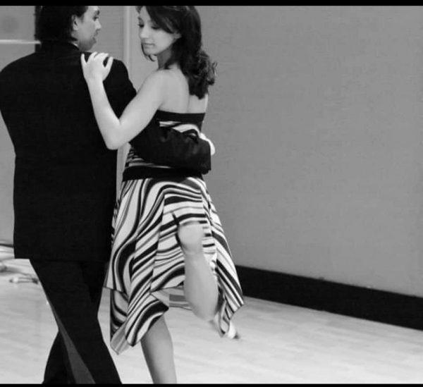 A couple doing tango
