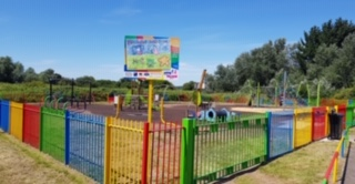 An image of a play area