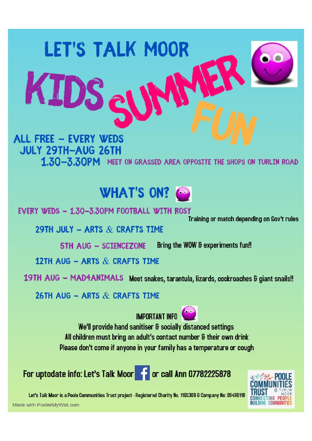Let's Talk Moor Summer Kids Fun