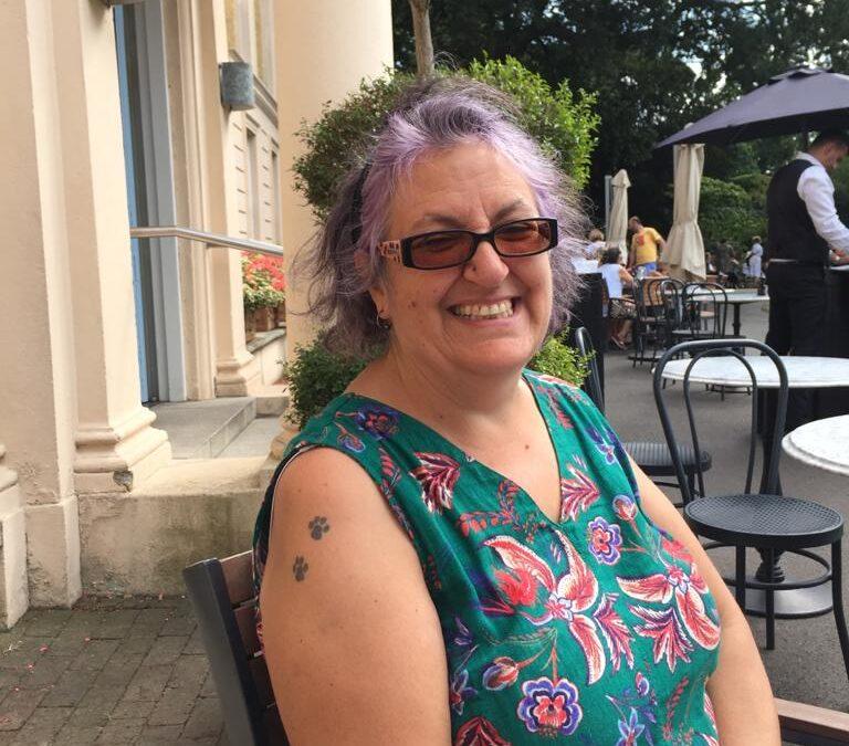 Ann,  our Community Worker in Turlin Moor